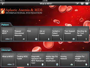 What Is Mds >> What Is Mds Ipad App Aplastic Anemia Mds International
