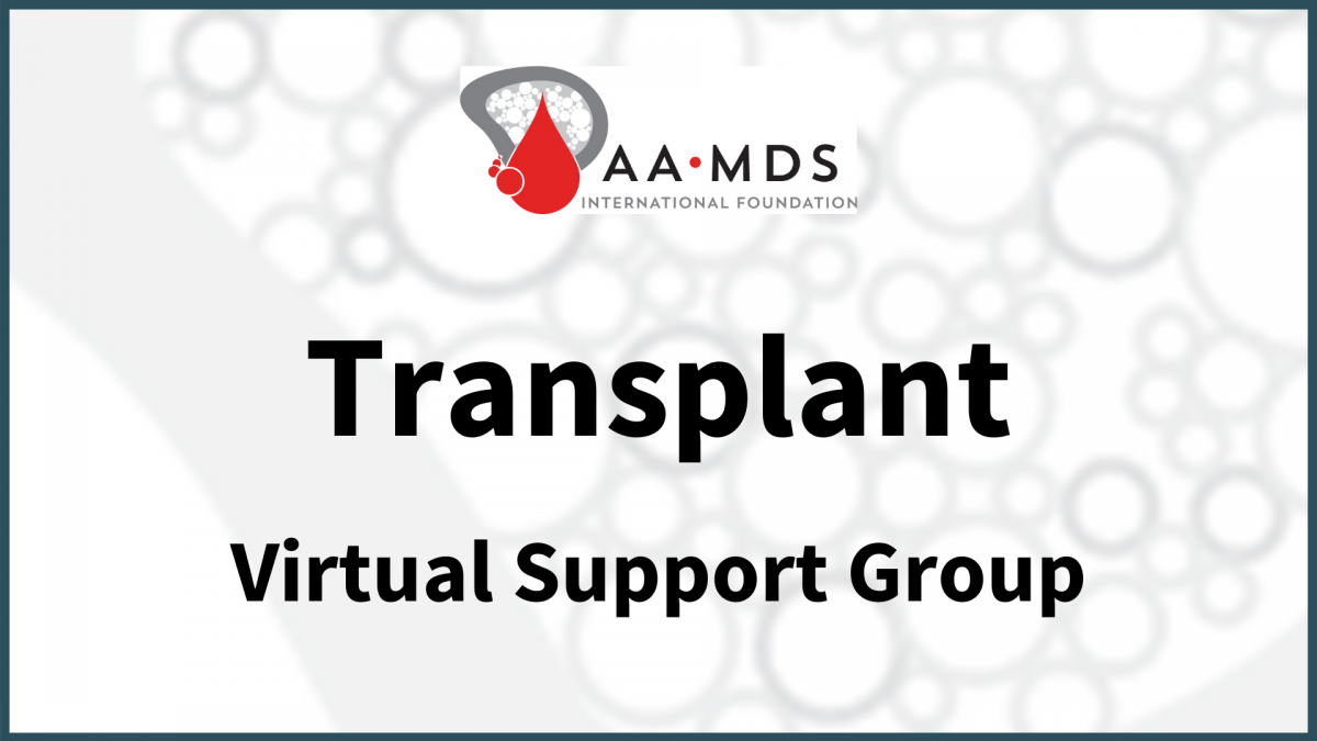 Introductory image: Transplant Virtual Support Group