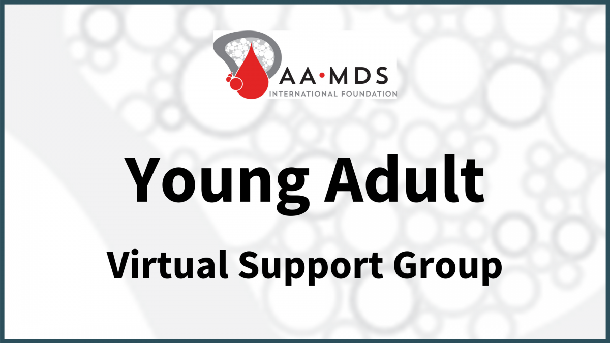 Introductory image: Young Adult Virtual Support Group