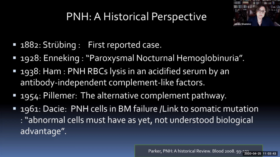 PNH - AAMDSIF Spring Virtual Conference