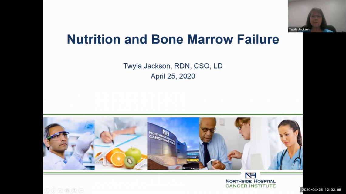 Nutrition and Bone Marrow Failure Disease - AAMDSIF Spring Virtual Conference
